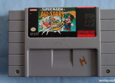 Super Mario All Stars Super Nintendo SNES